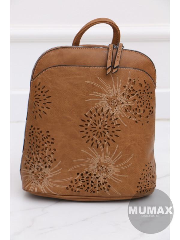 Trendy hnedý ruksak
