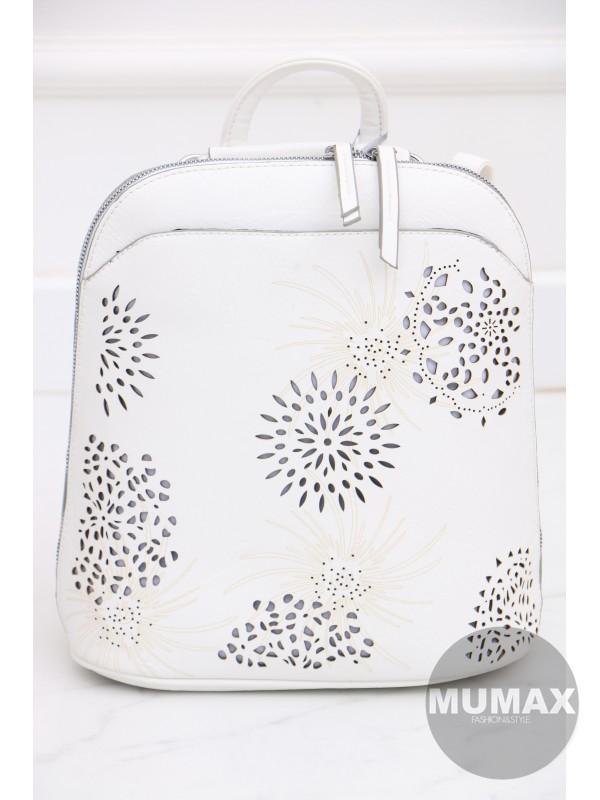 Trendy bielý ruksak