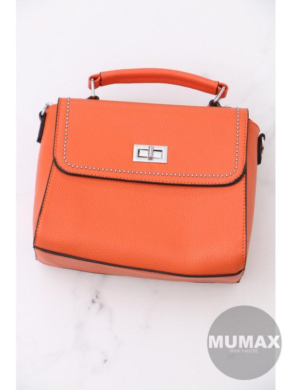 Trendy oranžová kabelka