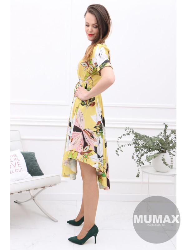 Asymetrické šaty