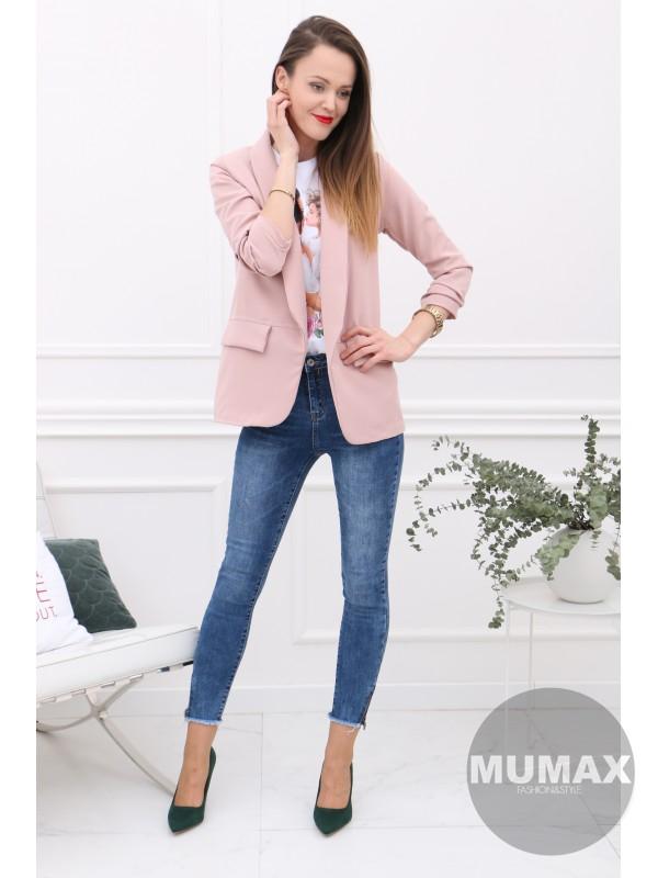 Dámske ružové sako
