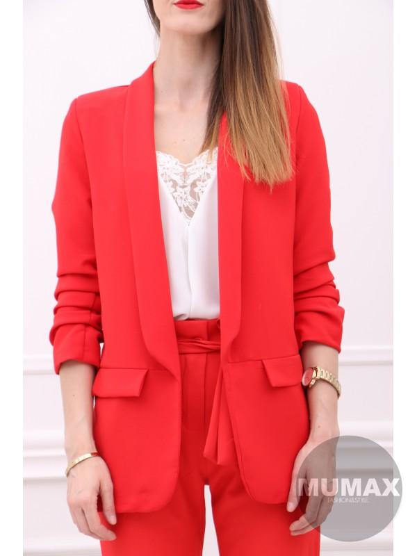 Dámske červené sako