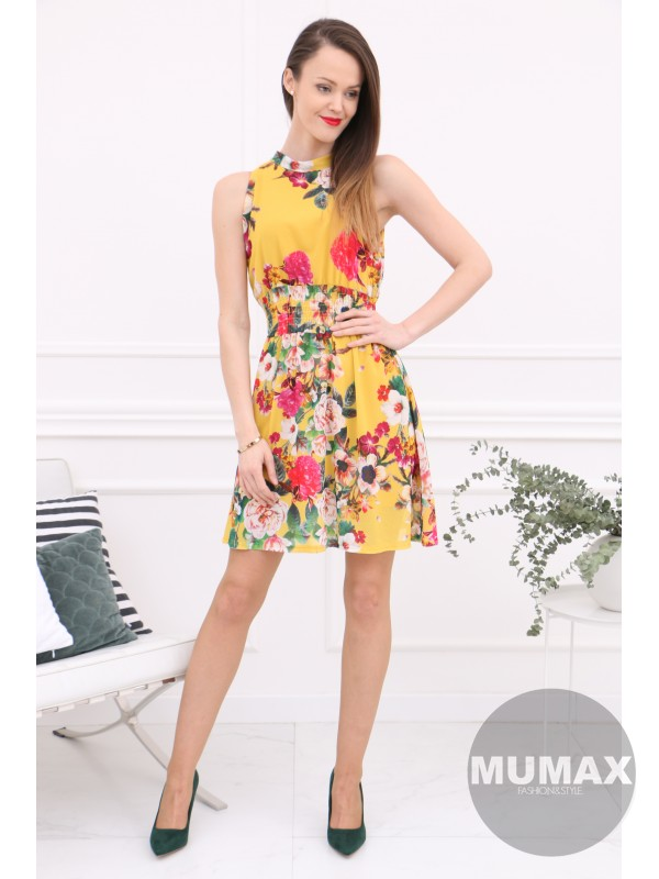 Dámske kvetinové šaty