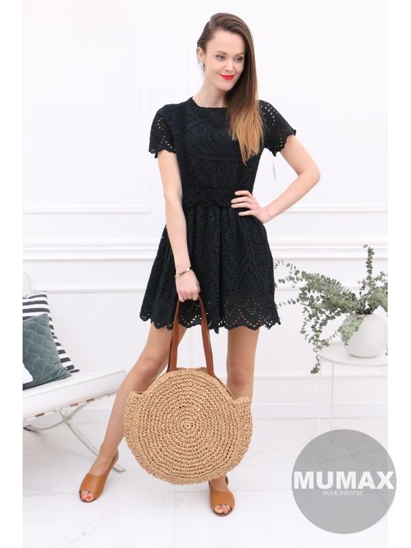Dámske šaty madeira čierné