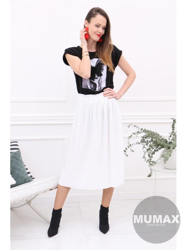 Biela suknička