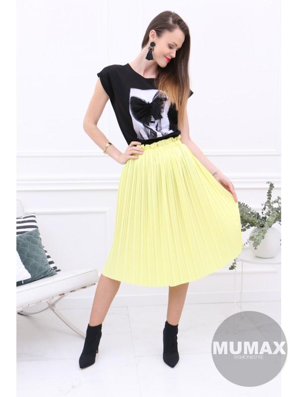 Žltá suknička