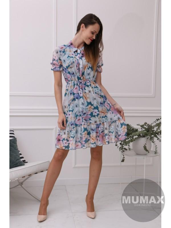 Dámske kvetinove šaty
