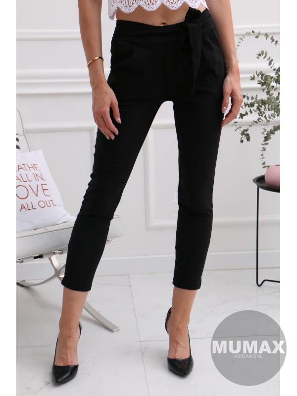Dámske čierné nohavice