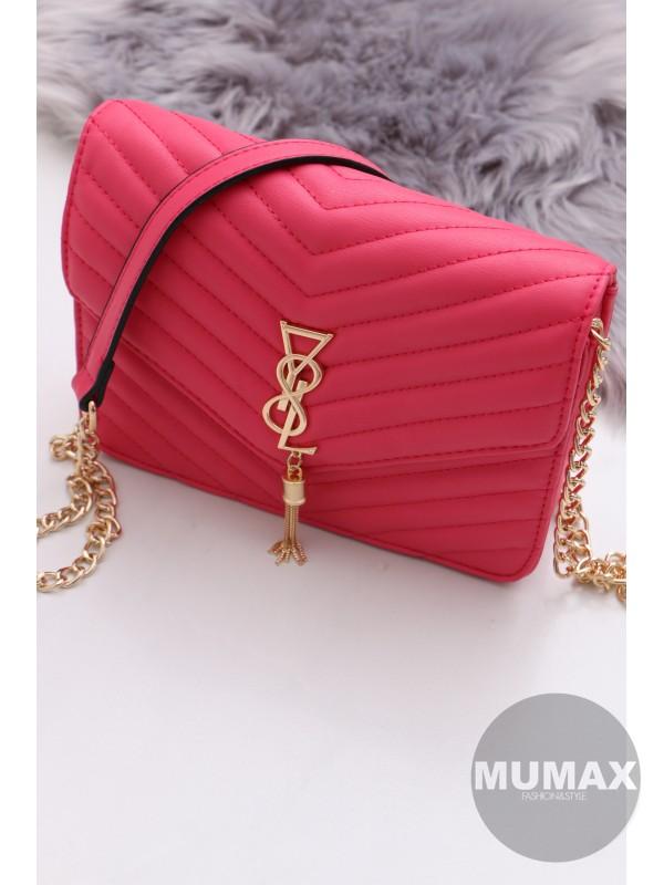 Trendy ružová kabelka