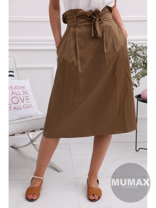Hnedá suknička