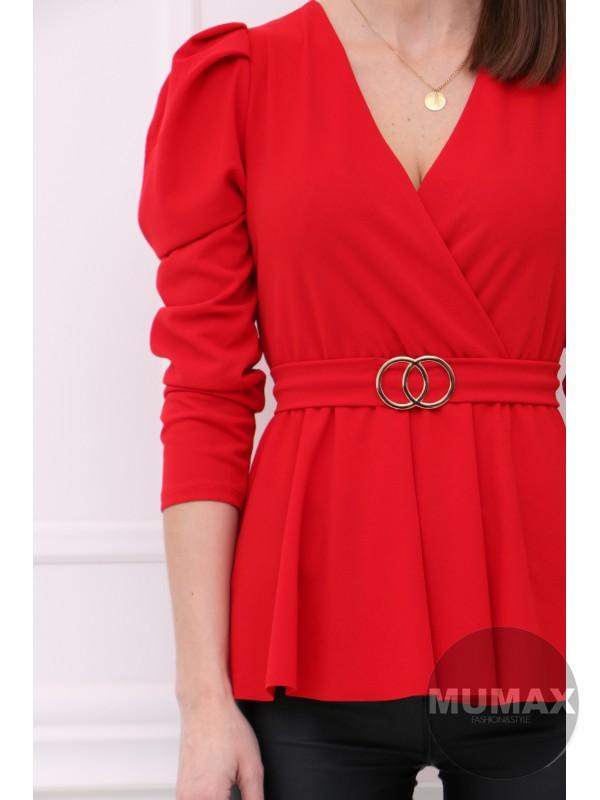 Trendy červený top