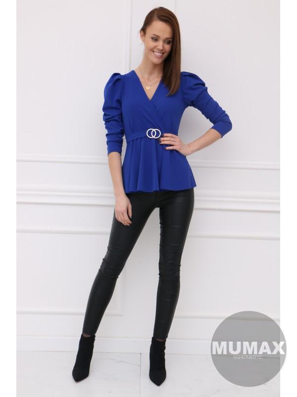 Trendy modrý top
