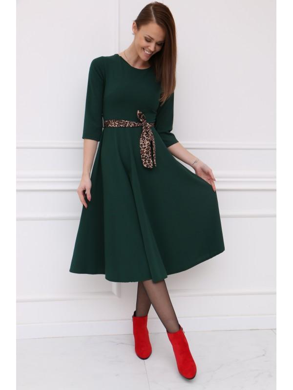 Dámske zelené šaty