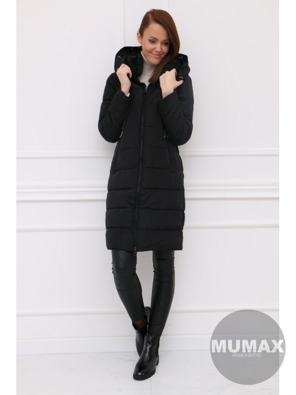 Dámska čierná zimná bunda