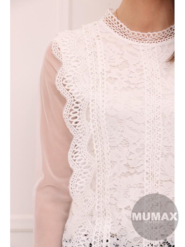 Dámska bielá blúzka