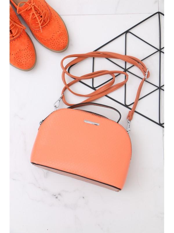 Oranžová crossbody kabelka