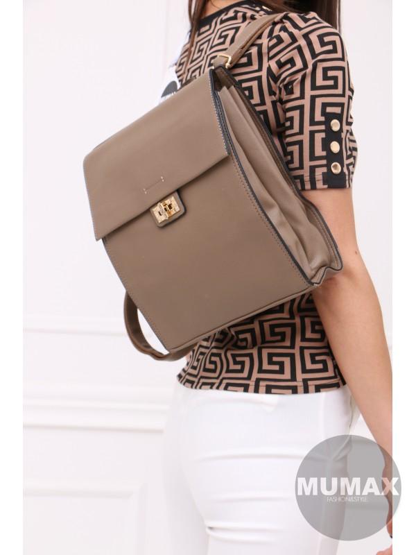 Trendy hnedý ruksak MC