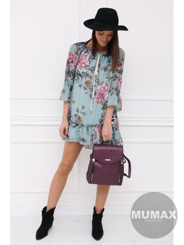 Módny fialový ruksak