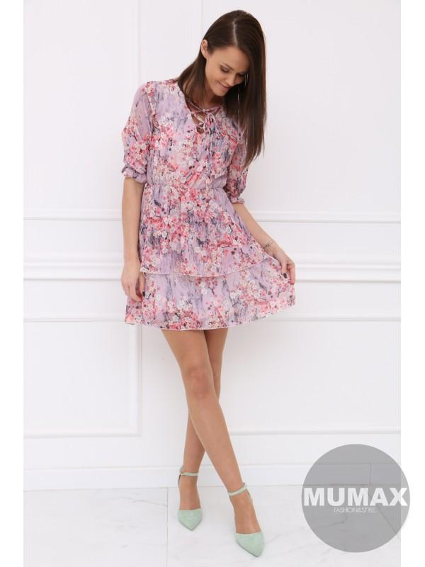 Kvetované šaty MILADY