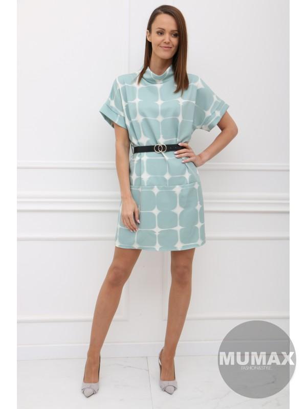 Mintové šaty CLAUDIE