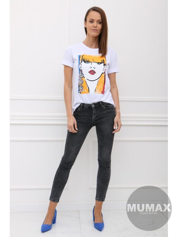 Dámske tričko s potlačou