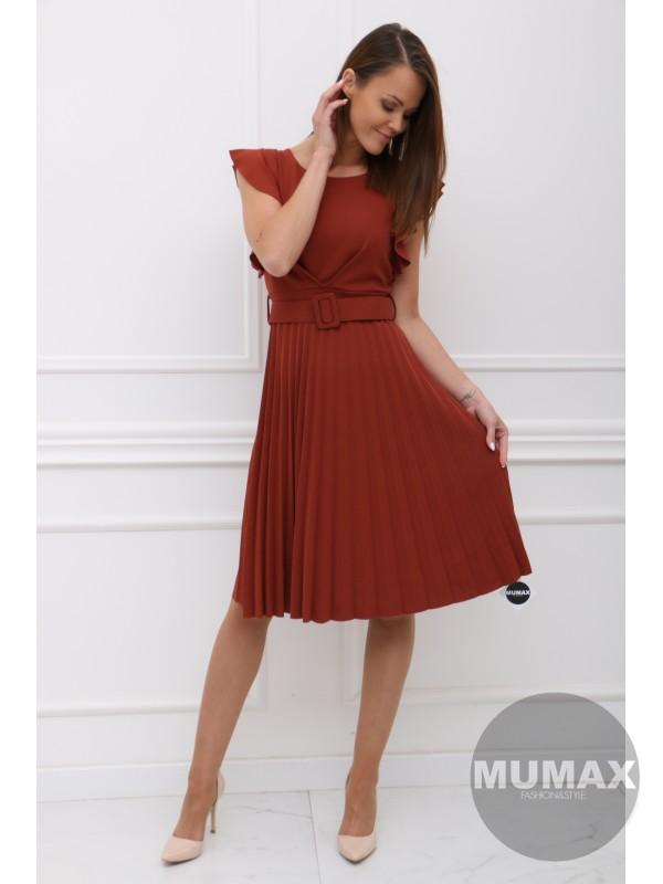 Škoricové šaty BETY