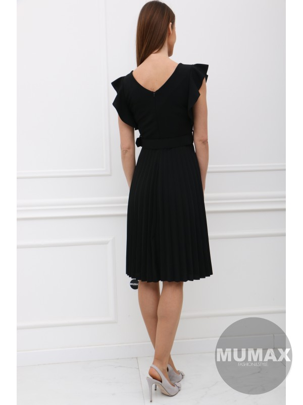 Čierné šaty BETTY