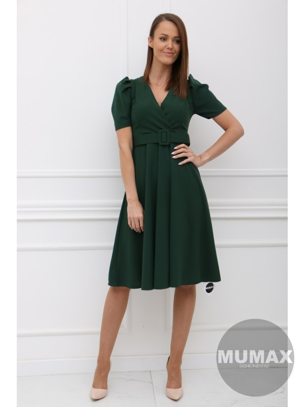 Zelené šaty KALLIE