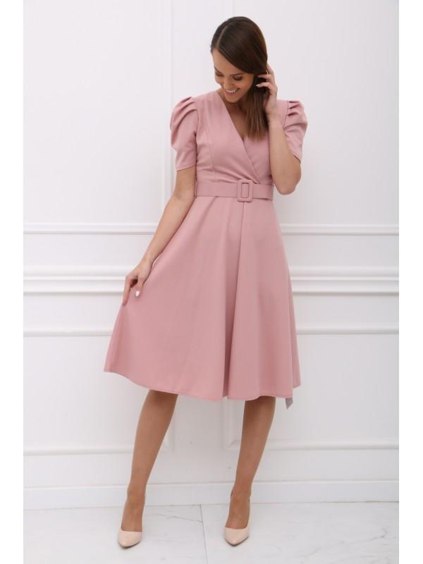 Ružové šaty KALLIE