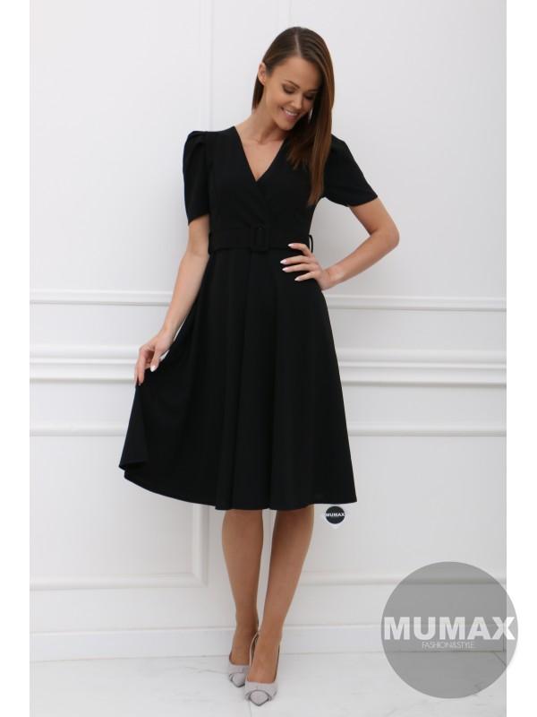 Čierné šaty KALLIE