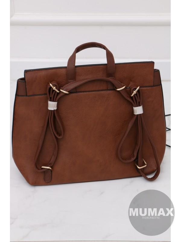 Trendy hnedá kabelka