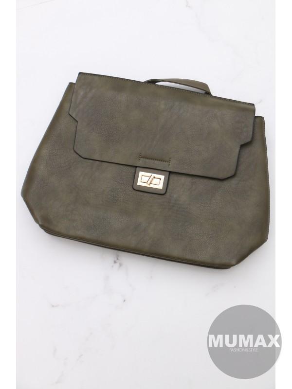 Trendy zelená kabelka