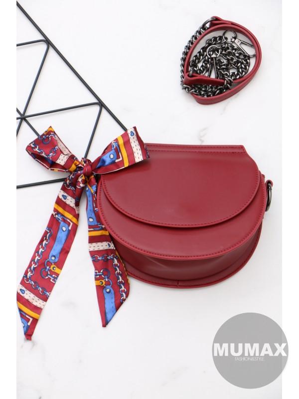 Trendy bordová kabelka