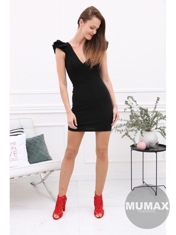 Čierne elegantné šaty