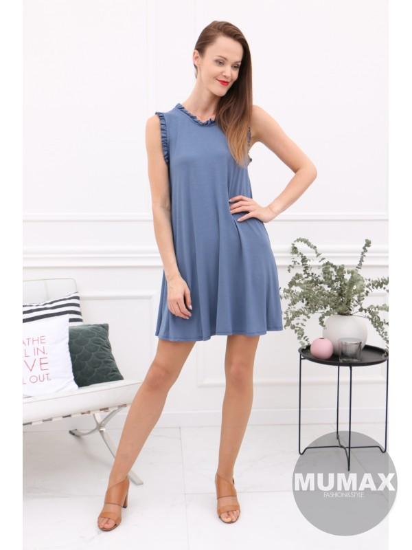 Dámske modré šaty/tunika