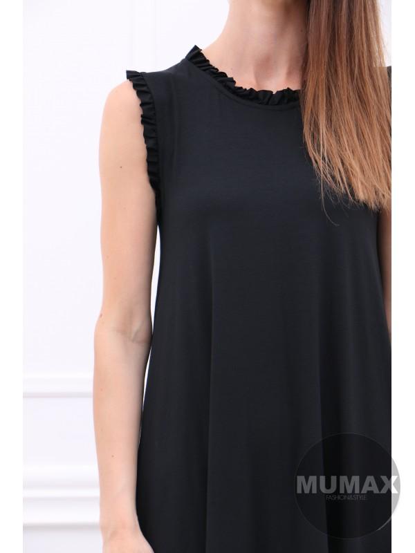 Dámske čierné šaty/tunika