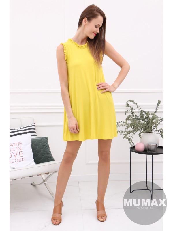Dámske žlté šaty/tunika