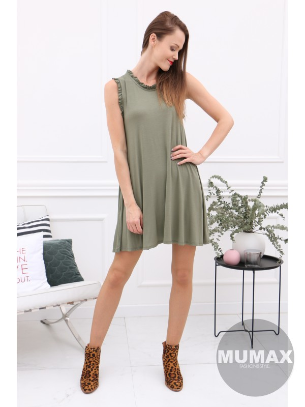 Dámske zelené šaty/tunika