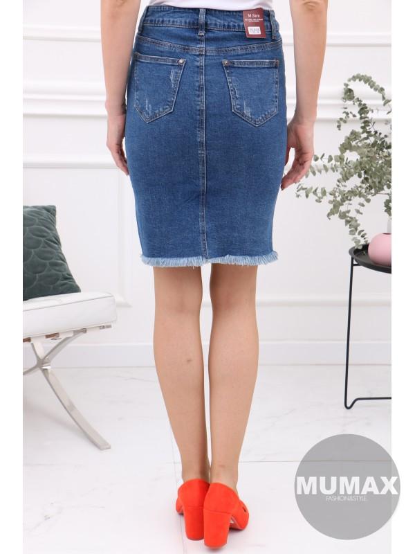 Dámska rifľová suknička