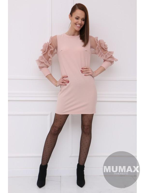 Trendy ružové šaty