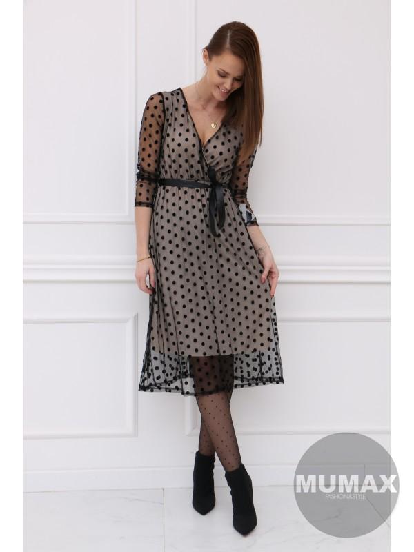 Trendy bodkované šaty