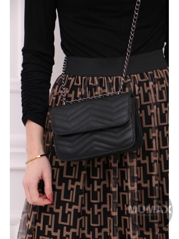 Trendy čierná kabelka