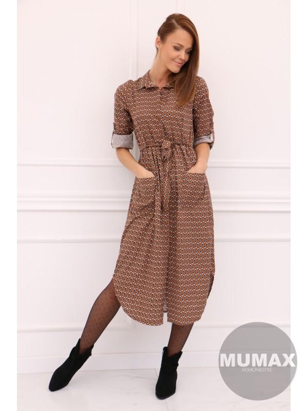 Dámske košeľové šaty