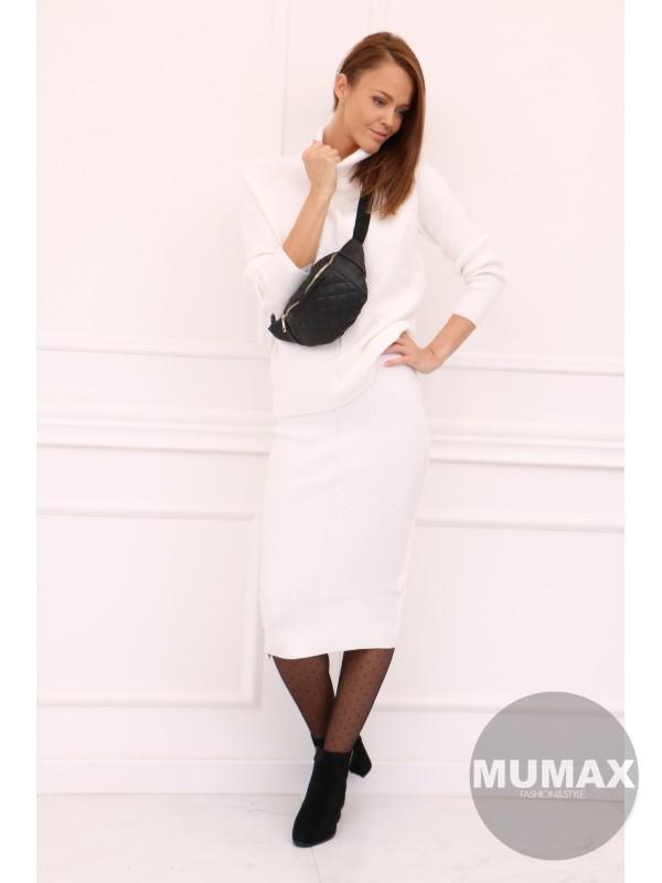 Dámsky bielý sveter