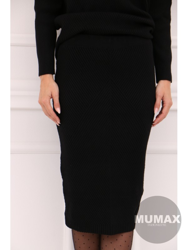 Dámska čierná suknička
