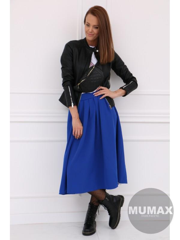 Dámska modrá sukňa