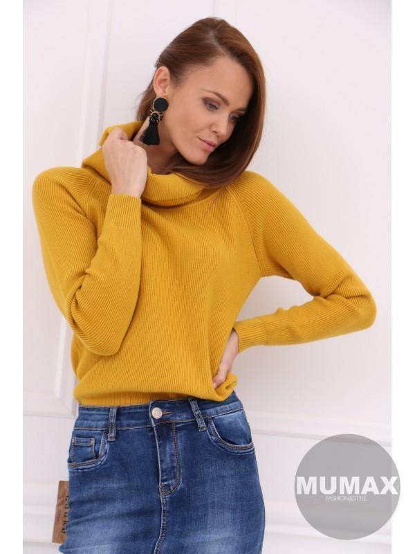 Dámsky béžovy sveter
