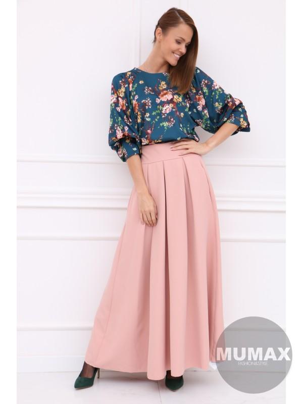 Dámska ružová elegentná sukňa