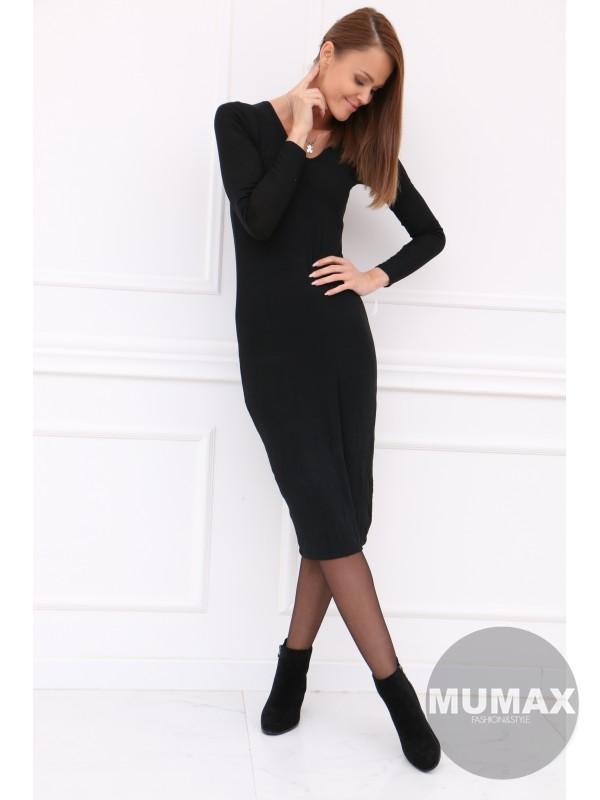 Dámske čierné šaty