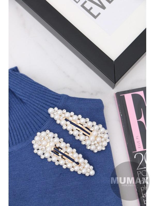 Ozdobná sponka s perličkami